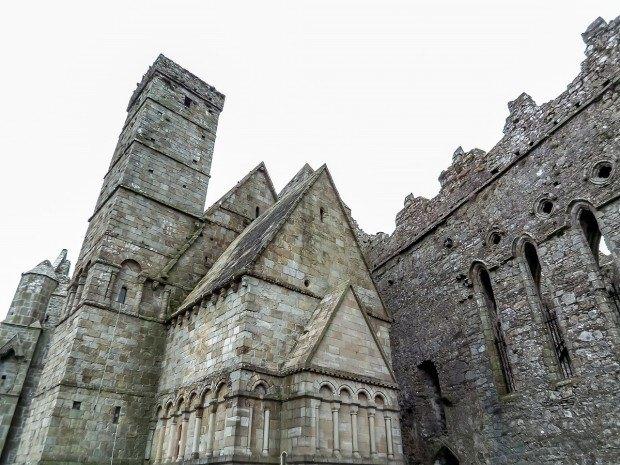 Cormac's chapel at the Rock of Cashel in eastern Ireland
