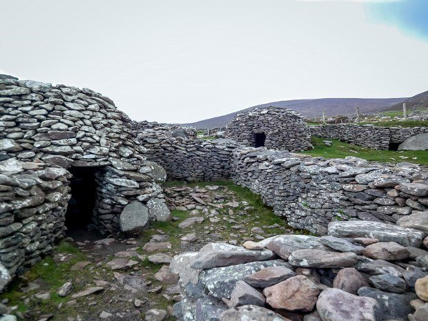 The beehive huts are one of the unique sights on Dingle Peninsula | Irleland's Dingle Peninsula or Ring of Kerry?