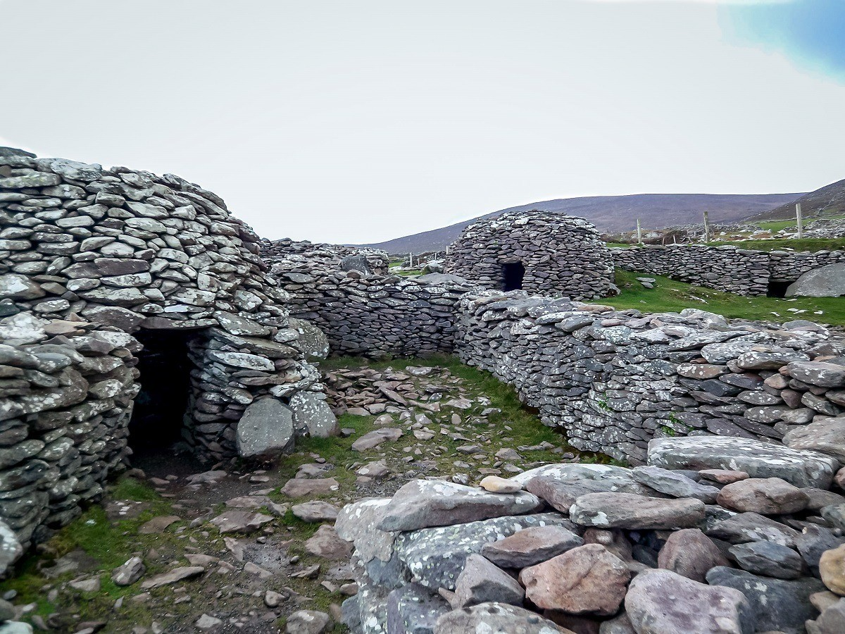 Beehive huts are one of the unique sights on the Dingle Peninsula