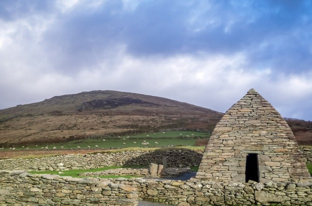 The Gallarus Oratory is one of the beautiful things you'll see in western Ireland. We drove the Ring of Kerry and Dingle Peninsula in one day -- which one did we like better?