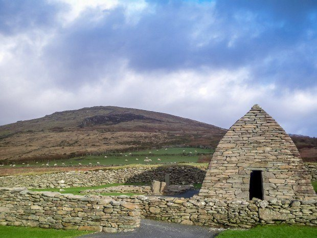 Visiting Dingle on a bed and breakfast tour of Ireland will give you a chance to see The Gallarus Oratory.  If you're wondering where to stay in Ireland countryside, Dingle is one of our top choices with the beautiful scenery and the nice people.