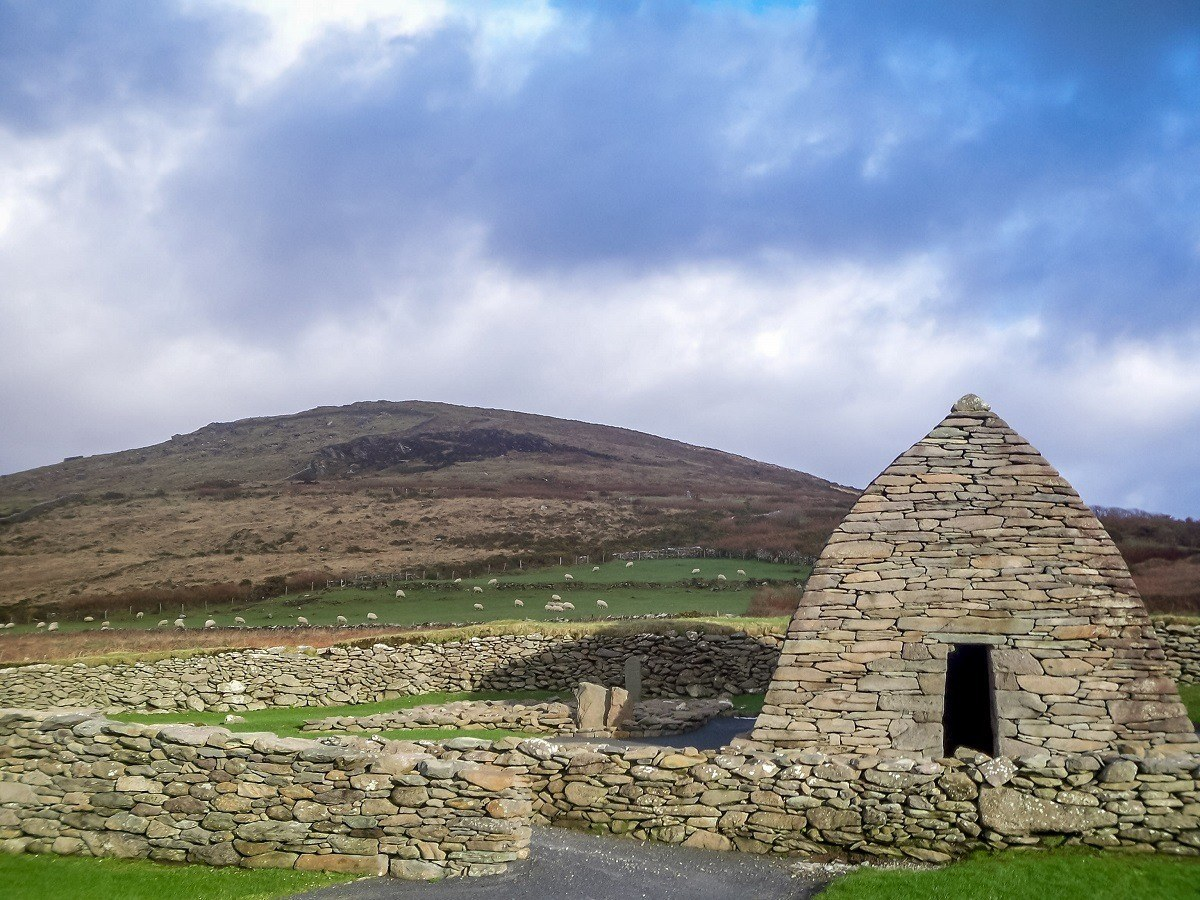 The Gallarus Oratory on the beautiful Dingle Peninsula in Western Ireland