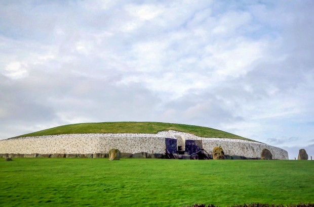 Exterior of Newgrange passage tomb