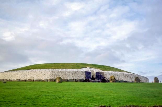 Exterior of Newgrange passage tomb
