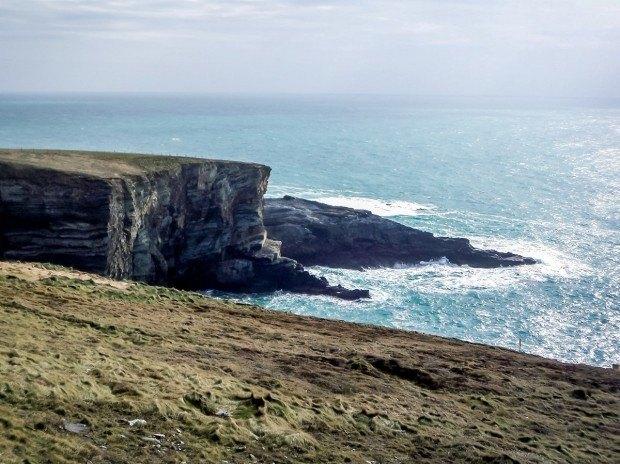 The coastline of Mizen Head in Ireland