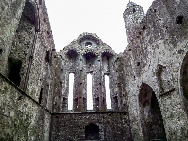 Cathedral at the Rock of Cashel in Ireland