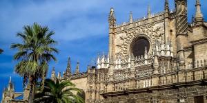 The Seville Alcazar - a royal palace built on the ruins of a Moorish palace.