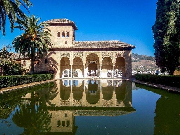 The Alhambra in Granada, Spain