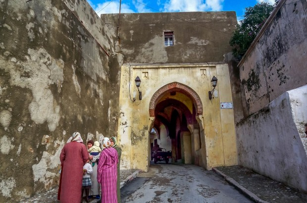 Women in Tangier, Morocco