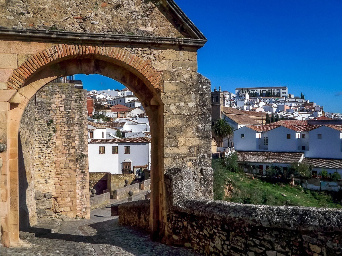 The White Hill Town of Ronda in Andalusia, Spain..