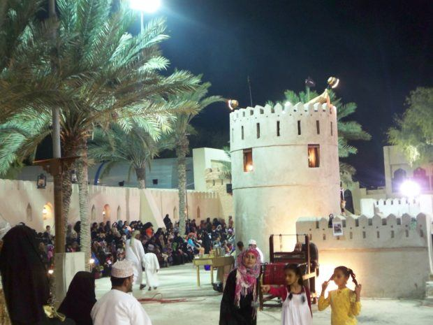 The Muscat Festival in Al Qurum Park is one of the best things to do in Muscat at night.