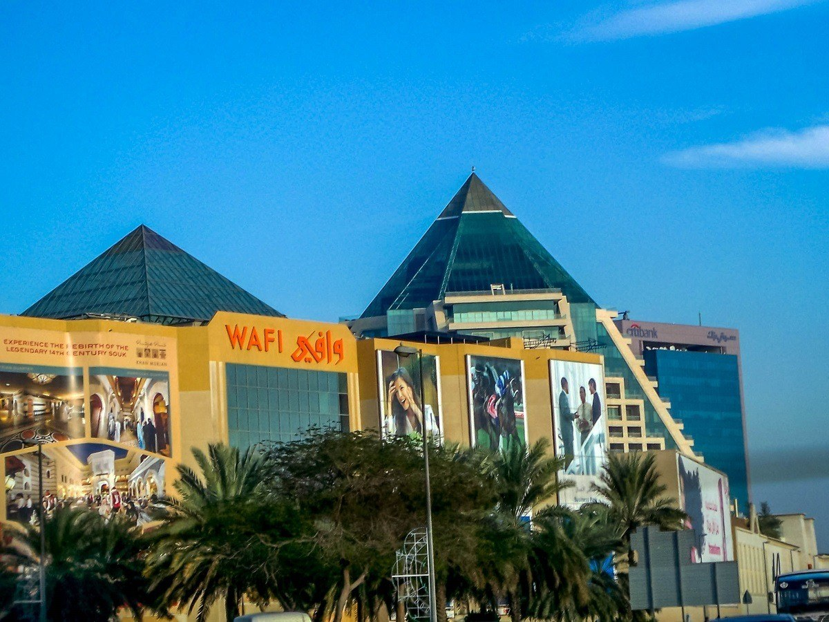 Focusing on fine dining and affordable luxury shopping, Wafi Mall is one of the top malls in Dubai.
