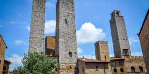 The towers of San Gimignano, Italy.