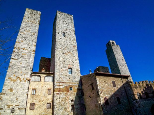 The towers of San Gimignano, Italy are the most defining characteristic of this UNESCO World Heritage Site.