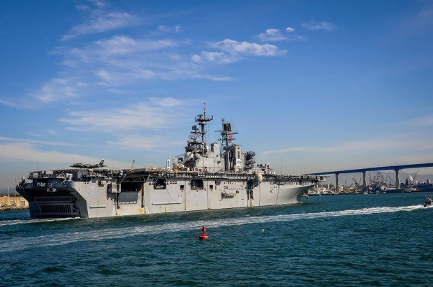 One of the San Diego highlights is a harbor cruise with Hornblower San Diego.  During our San Diego harbor cruise, we got to pass this aircraft carrier pulling into port.