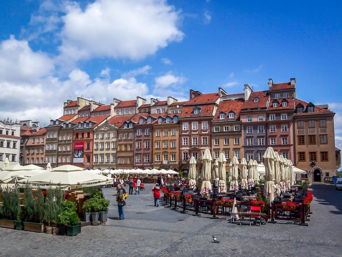 The Warsaw Old Town is a UNESCO World Heritage Site for its painstaking restoration of the city and is one of the top things to do while visiting Warsaw.