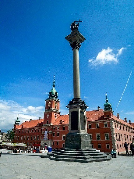 The Royal Castle in Warsaw's Old Town.