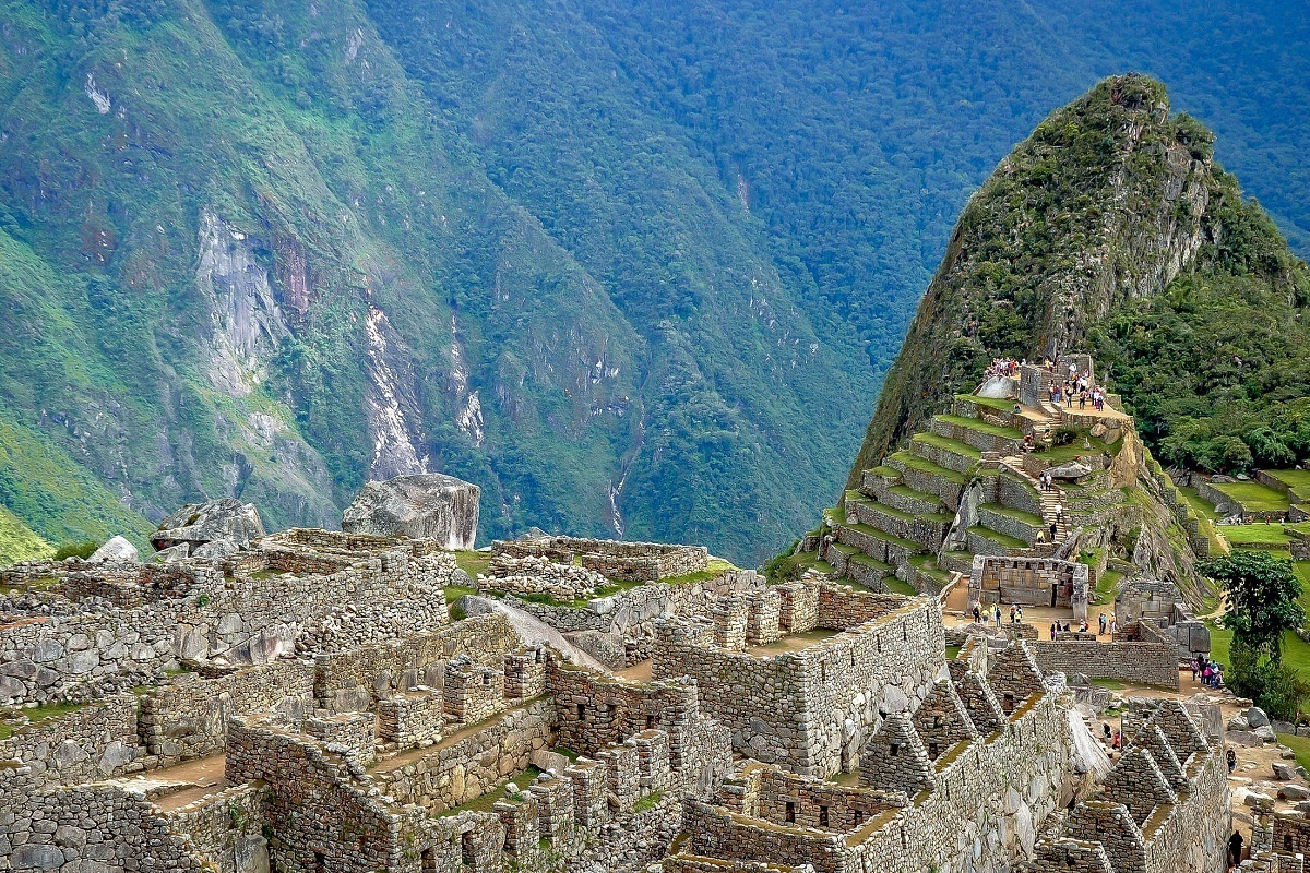Visiting Machu Picchu in Peru