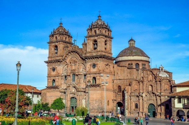 One of Cusco's top sites is the Church of the Company of Jesus, right on the Plaza de Armas.