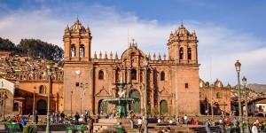 The Cathedral of Santo Domingo in Cusco, Peru.