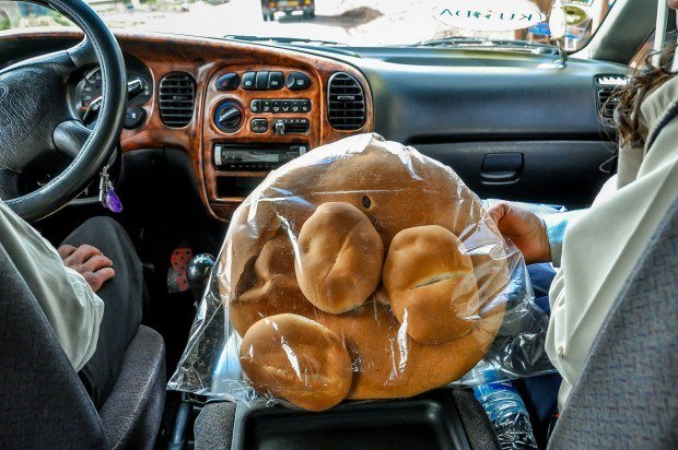 """Bread from the appropriately named """"bread town"""" near Cusco"""