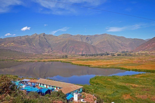 Tent camp outside Cusco, Peru