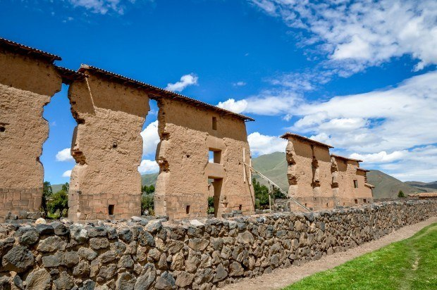 The Temple of Wiracocha is about one-third of the way on the drive from Cusco to Puno
