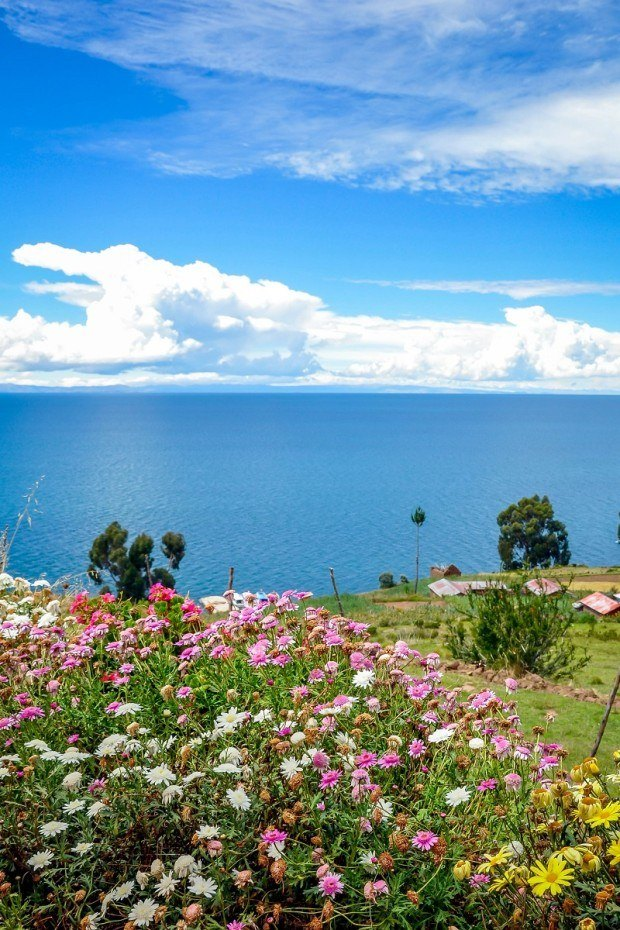 Taquile Island in Lake Titicaca