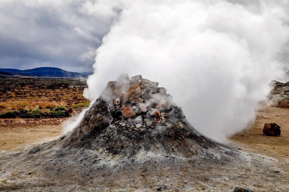 Large sulfur vent