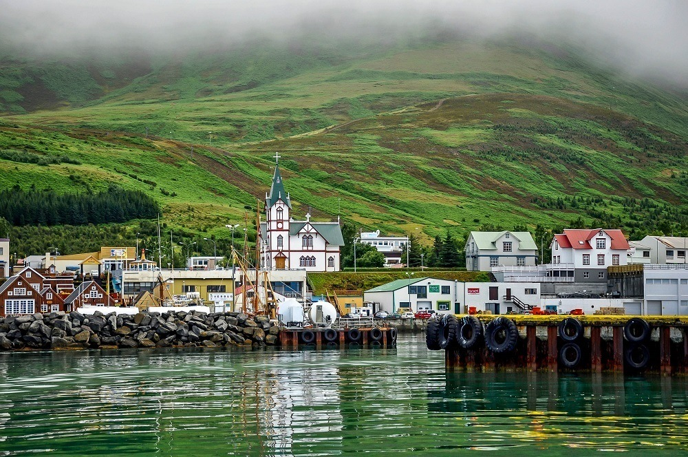 Iceland Ring Road itinerary 10 days: Our Iceland Ring Road trip took us through numerous small villages that clung to the coast above the rough Atlantic Ocean. What these villages lacked in services they more than made up for in charm.