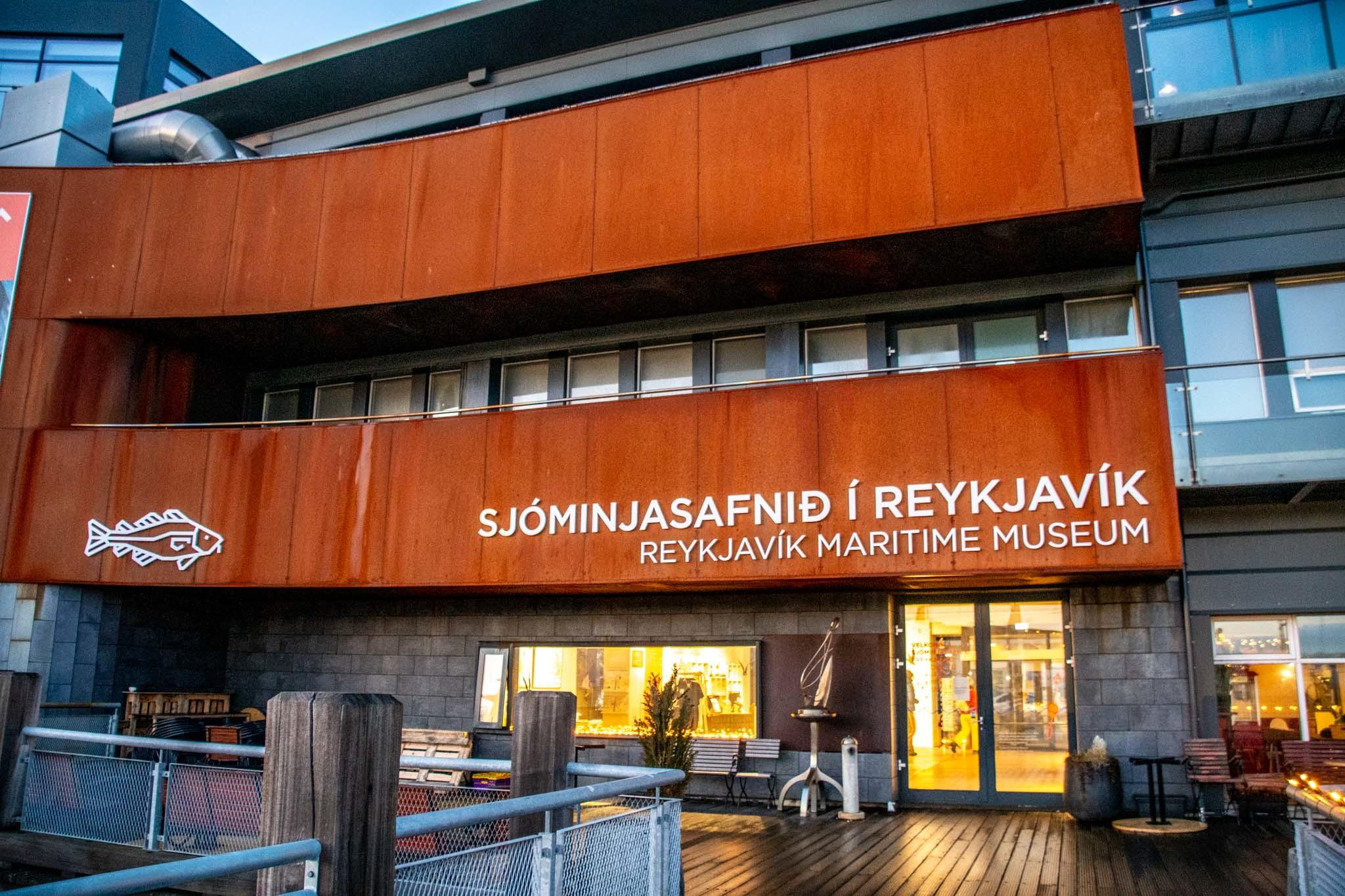Reykjavik Maritime Museum in the harbor area.