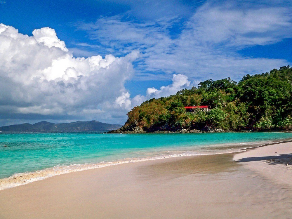 Trunk Bay Beach photos:  The beach at Trunk Bay St John is one of the best in the world!