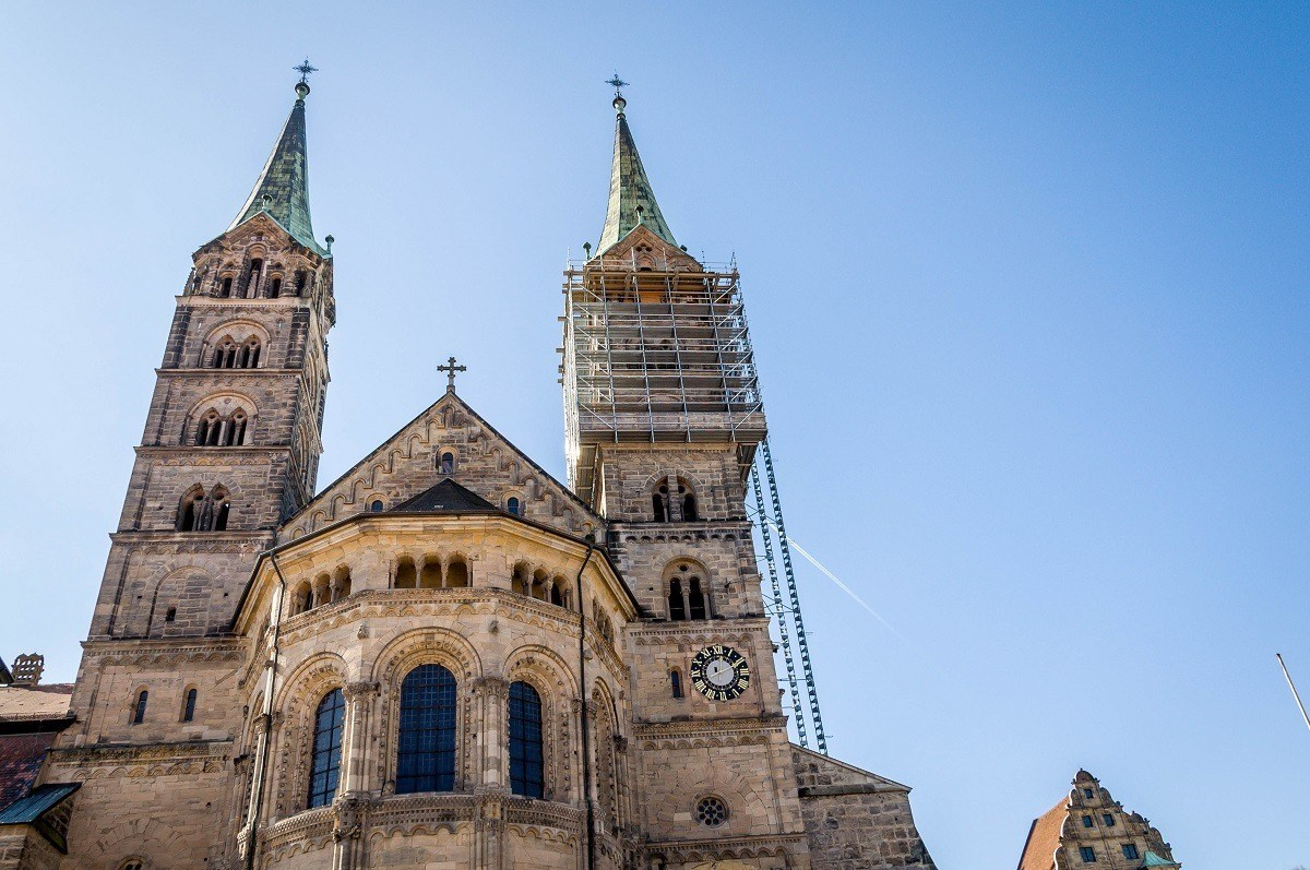 Exterior of The Bamberg Cathedral