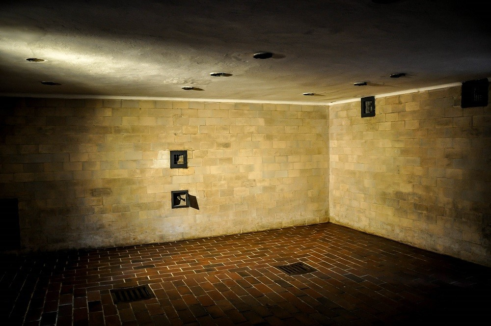 Gas chamber at Dachau concentration camp