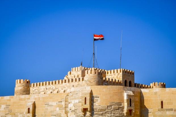 Egypt-Alexandria-Fort-Qaitbey
