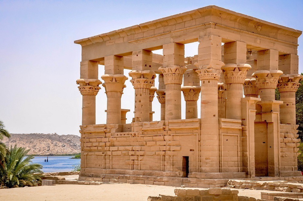 Philae Temple on Lake Nasser