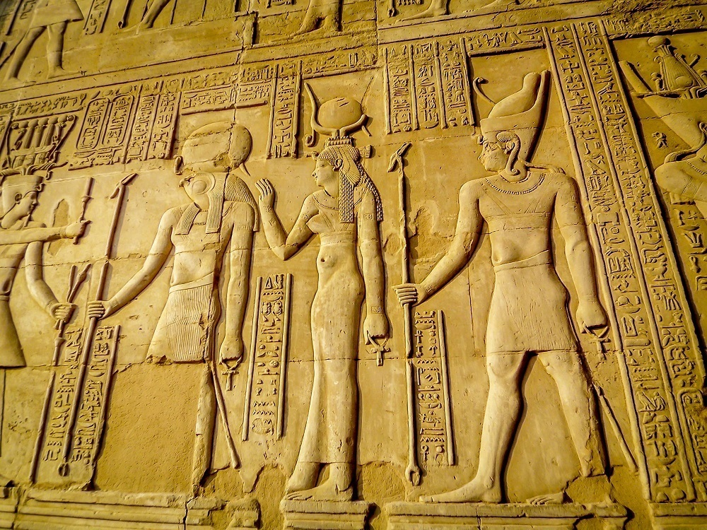 Relief at Kom Ombo temple