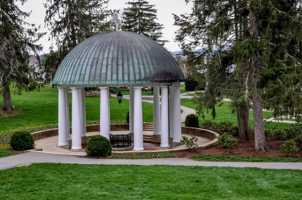Gazebo at the Greenbrier Hotel in West Virginia