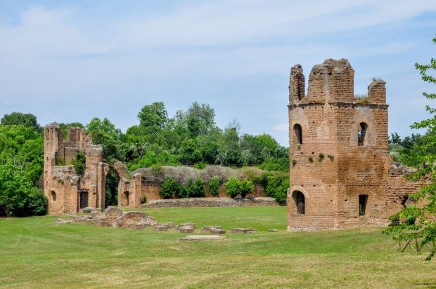 The Villa at the Circus of Maxentius on the Appian Way Rome.