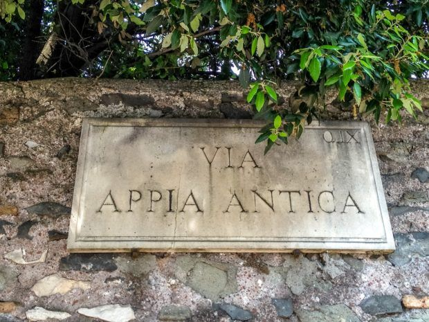 The Appia Antica in Rome.