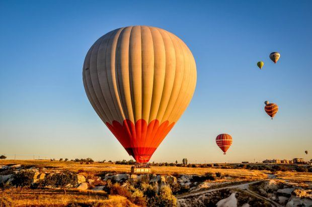 A Cappadocia hot air balloon ride.