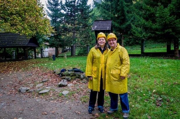 Banska-Stiavnica-Slovakia-silver-mine-tour-getting-ready
