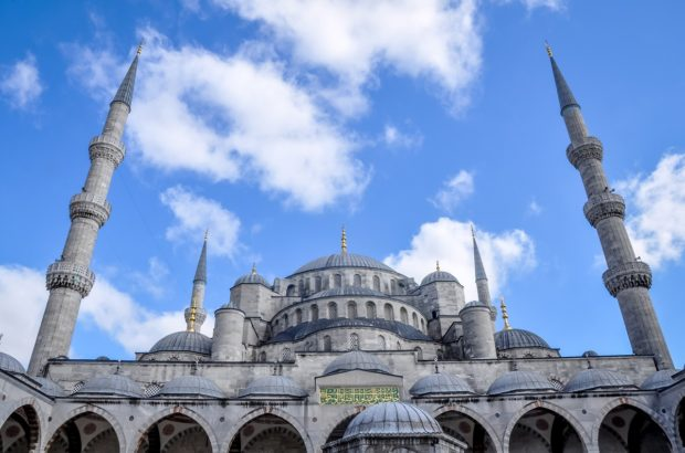 One of the top must see sites in Istanbul is the Blue Mosque.