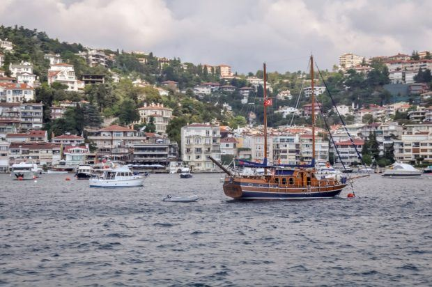 Istanbul Bosphorus cruises:  There are many different kinds of Bosphorus Cruise options. On weekends, the Bosphorus fills with boats for a day on the water.