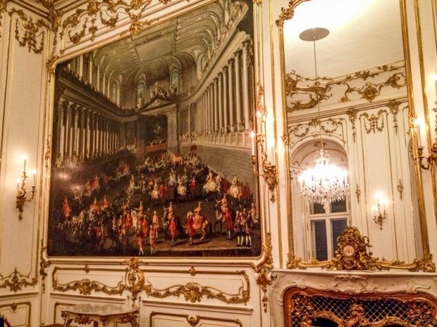 Paintings in Schonbrunn Palace Vienna
