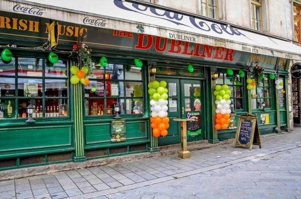 The Dubliner pub in Bratislava, Slovakia