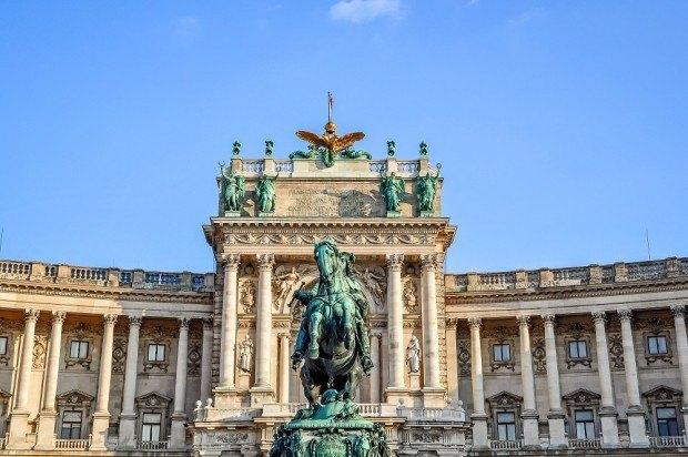 Hofburg Palace complex in Vienna, Austria