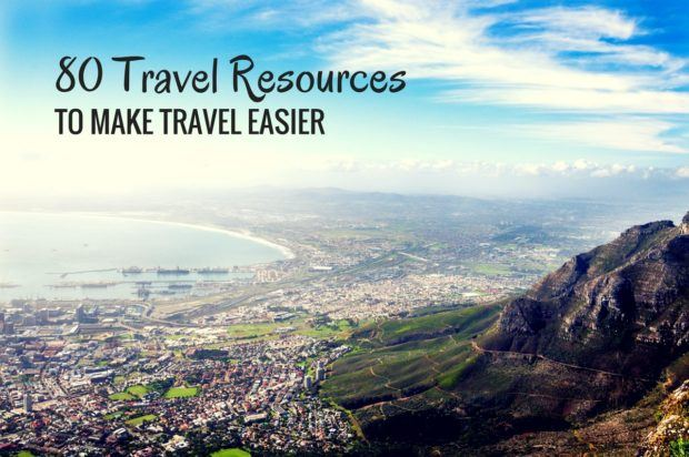 80 travel resources to make travel easier