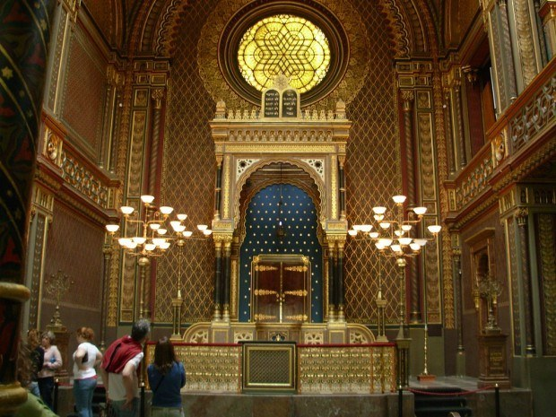 The Spanish Synagogue in the Prague Jewish Quarter