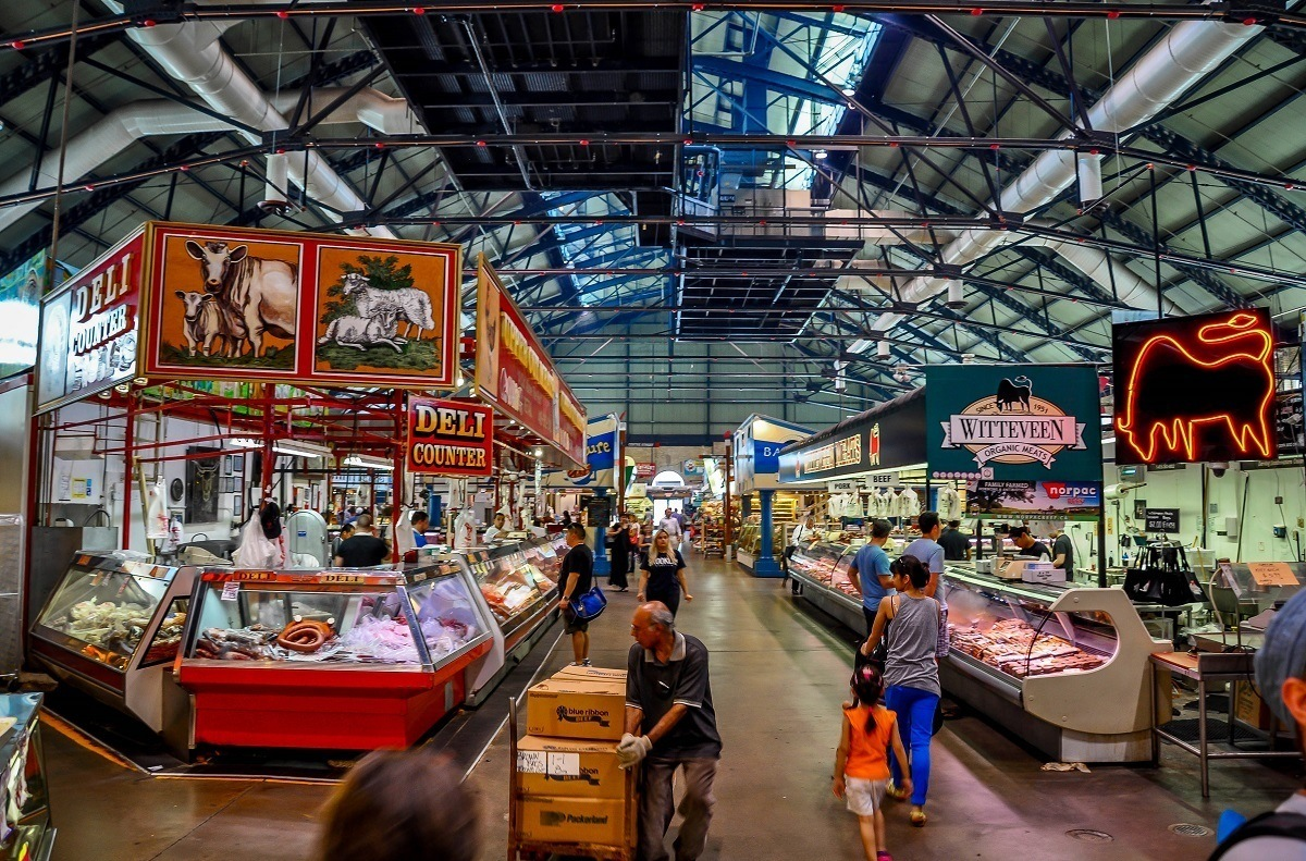 St. Lawrence market, one of the top Toronto sights